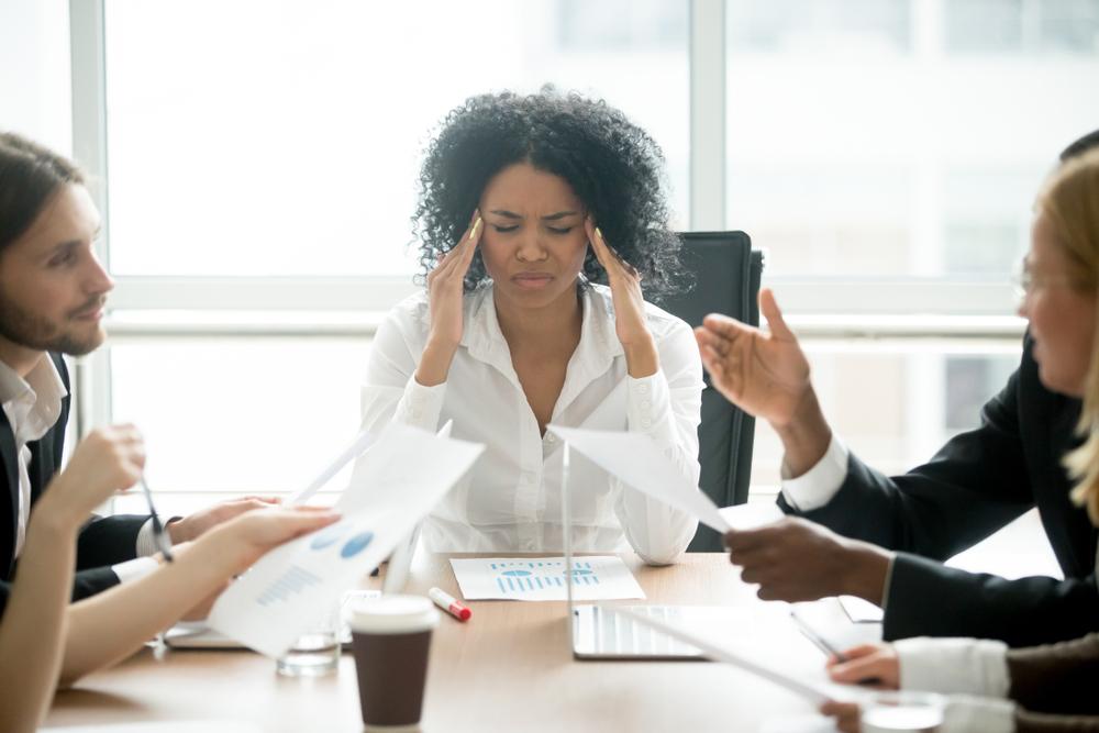 stress symptomen werkgerelateerd